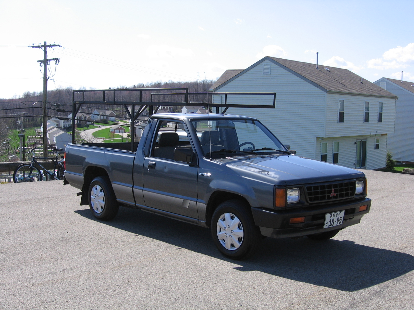A Classic Mitsubishi Mighty Max Pickup Truck For Both