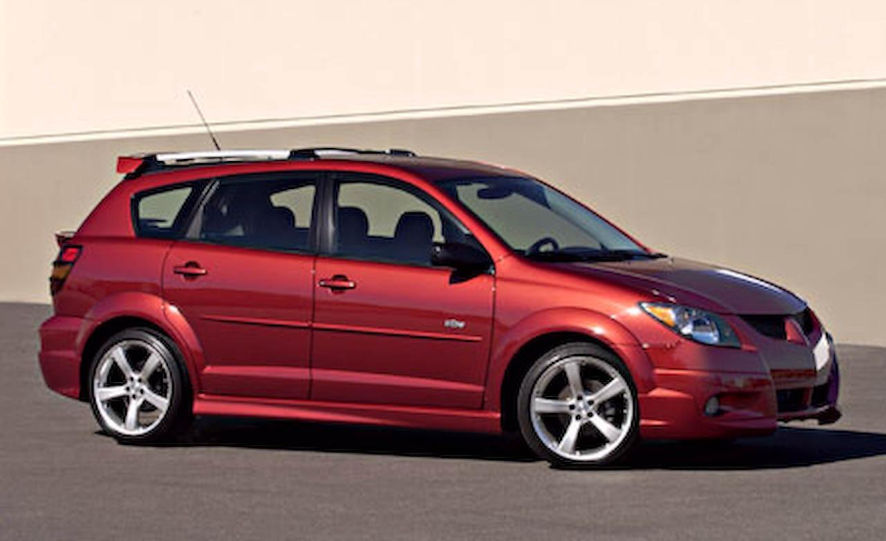 Start Your Life With The 2003 Pontiac Vibe Gt Model