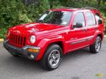 Jeep Liberty 2004 Red