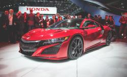 An Aluminum-Bodied, Stylish Sports Acura NSX Car From Acura