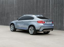 The comfort and reliability of a BMW Active Hybrid X6 with the luxury of a BMW
