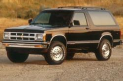 Acquire Stylishly Developed Chevrolet S-10 Blazer to Get Joyous Ride