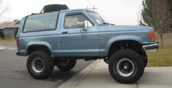 Ford Bronco II Looking Still Elegant and Stylish