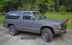GMC S-15 Jimmy of 1987 as the Chevy Blazer Counterpart: Comparing the Best Midsize SUV