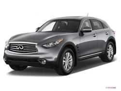 Infiniti FX occuring A Smooth Driving While Fast Speed