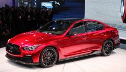 the Advanced Infiniti Q50 2014 Rouge Concept beats all the expectations