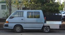 Specifications and Features of Mitsubishi Vanwagon 1990 Truck
