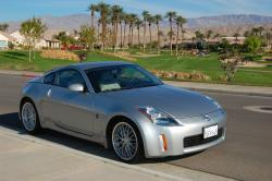 The fifth generation of Nissan 350Z model