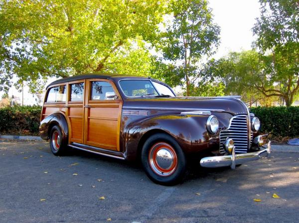 1940 Retro Super Model 59 of Woody Buick Estate Wagon