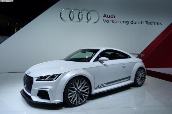 A Powerful Third Generation Audi TT Car, Made For The Crazy Driving Experience
