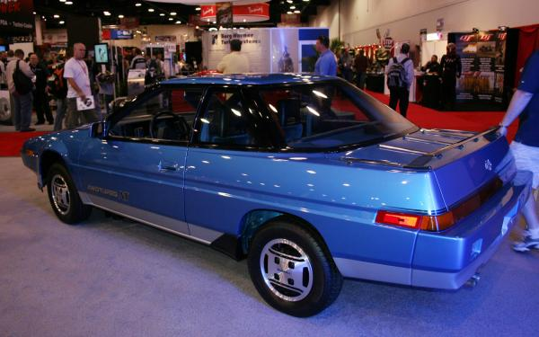 Coupe 1986 version of Subaru XT Providing Service in Excellence