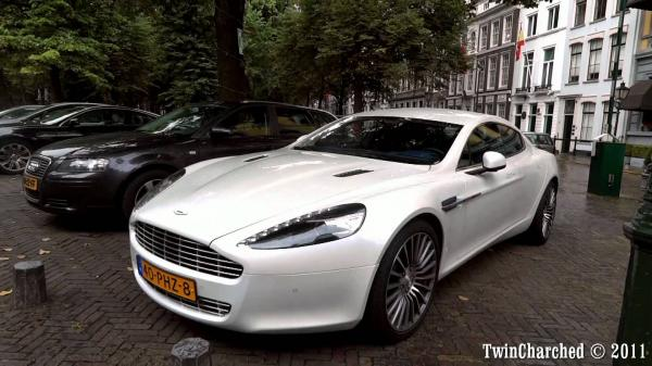 Have a Long Drive With This Aston Martin Rapide S With More Comfort