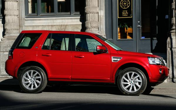 Rover LR2: Large enough to take you and everything you need