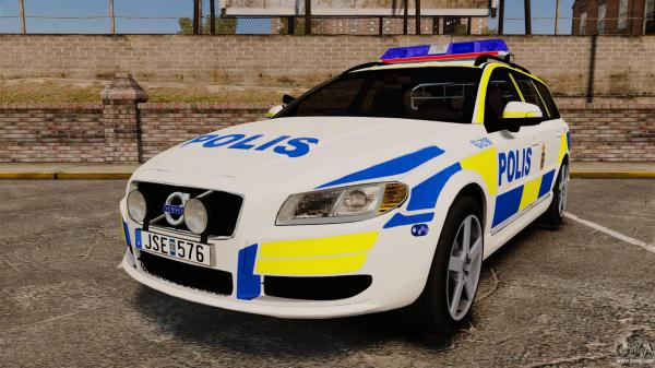 The Perfect Sensorial Improvement Of Volvo V70 for Sweden Police